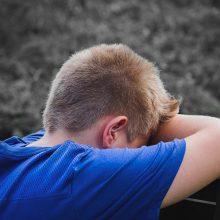 Stresas gali susargdinti mažuosius