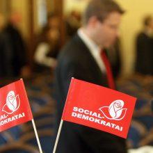 Vilniaus socialdemokratai į merus siūlo tris kandidatus