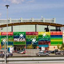 """Statybos inspekcija: aikštelės prie """"Megos"""" įrengtos be leidimo, kas statė – neaišku"""