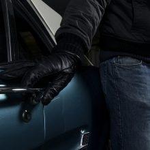 Uostamiestyje pavogtas neužrakintas automobilis