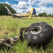 Kauno rajone nukrito lėktuvas (papildyta)