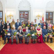 Rotušėje apdovanoti Kaunui ir Lietuvai nusipelnę miestiečiai