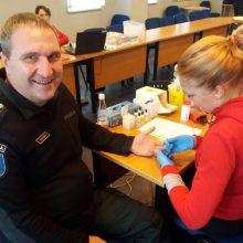Kauno pareigūnai tapo neatlygintinais kraujo donorais