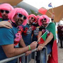"""""""Eurovizijos"""" karnavalas pirmą kartą atkeliavo į Portugaliją"""