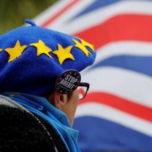 """Tyrimai: nežinomybė dėl """"Brexit"""" pradeda """"kandžiotis"""""""