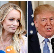 JAV teismas atmetė D. Trumpui pornožvaigždės iškeltą ieškinį