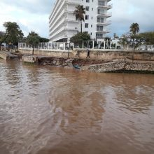 Kurortinėje Maljorkos saloje per potvynį žuvo devyni žmonės