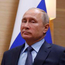 V. Putinas: jei JAV apsiginkluos draudžiamomis raketomis, Rusija pasielgs taip pat
