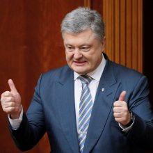 P. Porošenka: Turkija pristatė Ukrainai atakos dronų
