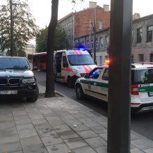 Sujudimas Kauno centre: sustabdytame BMW – du galimi narkomanai