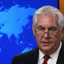 Iš pareigų atleistas R. Tillersonas: JAV privalo reaguoti į Rusijos elgesį