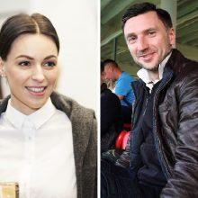 Paslapčia susituokė D. Šemberas ir O. Zlatkovaitė