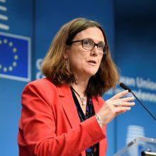 ES įspėja JAV atsakysianti į tarifus automobiliams