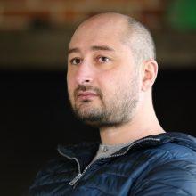 Rusų žurnalistas A. Babčenka – gyvas: pasirodė spaudos konferencijoje