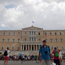 Artėjant krizės pabaigai, Graikija gavo paskutinę pagalbos išmoką