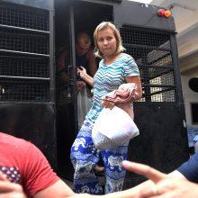 Tailandas deportavo baltarusę, neva žinančią D. Trumpo paslapčių