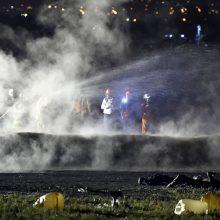Meksikoje užsidegus pažeistam naftotiekiui žuvo 21 žmogus