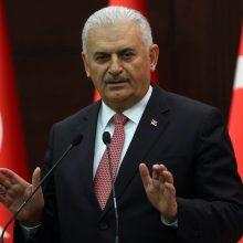 Buvęs Turkijos premjeras B. Yildirimas išrinktas parlamento pirmininku