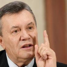 V. Janukovyčiaus teismas kitą savaitę išklausys kaltintojų liudytojus