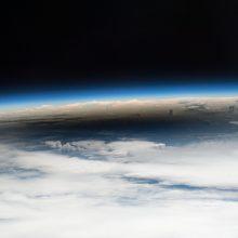 Astronautai Padėkos dieną atšvęs sočiais pietumis