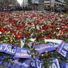 Išpuolių Ispanijoje aukų skaičius padidėjo iki 16