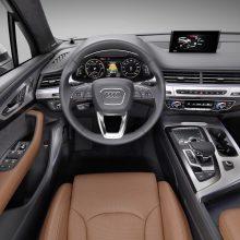 """Pristatomas pirmasis iš tinklo įkraunamas hibridinis ,,Audi Q7 e-tron"""""""