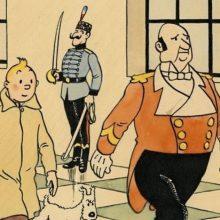 Garsiojo komikso apie Tenteną viršelis parduotas už pusę milijono eurų