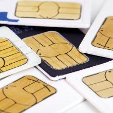 Neapsisprendžia dėl privalomo išankstinių SIM kortelių registravimo