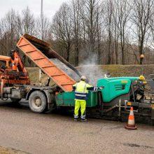Vilniuje šiemet bus išasfaltuota 80 kilometrų gatvių