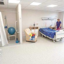 Ligoninėje – kaip namie, tik daug saugiau