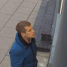 Kompiuterio vagyste Vilniuje įtariamas vyras atpažintas