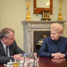 Prezidentė: Europos biudžete Lietuva turi savo prioritetus