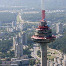 Neįgaliesiems patekti į televizijos bokštą – trys dienos