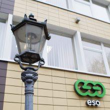 ESO žada didinti investicijas į elektros ir dujų tinklus