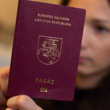 """Artėjant """"Brexit"""" ministerija nebespėja išduoti pasų"""