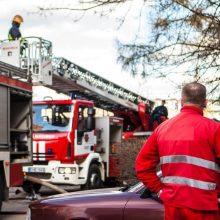 Būstuose šiemet gaisrų kilo 37,5 proc. daugiau