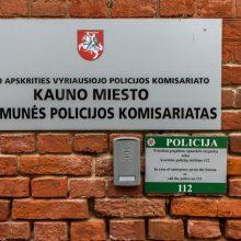Incidentas Kauno policijoje: peiliu sužaloti du pareigūnai <span style=color:red;>(papildyta)</span>