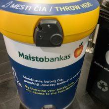 Vilniaus oro uoste pristatytas dar vienas būdas padėti vargstantiems