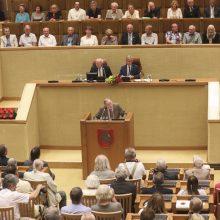 V. Landsbergis: keisti reikia ne įstatymus, o širdį