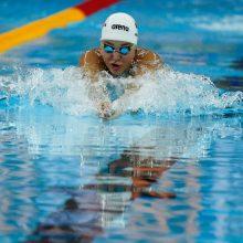 Pasaulio čempionatas: R. Meilutytė neįveikė atrankos, du lietuviai – pusfinalyje