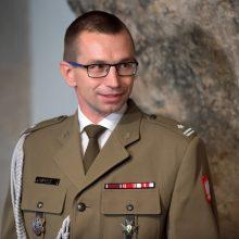 Pasikeitė Lenkijos gynybos atašė Lietuvai