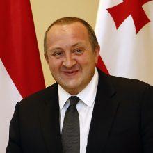 Gruzijos prezidentas prašo lietuvių jo šalį vadinti Georgija arba Sakartvelo