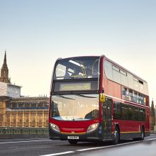 Londono autobusai pradėjo naudoti kavos tirščių biodyzeliną