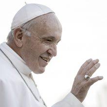Popiežius: saugus geriamasis vanduo yra žmogaus teisė, o ne prekė