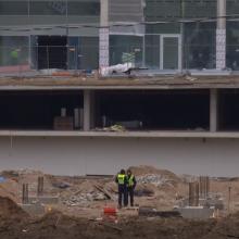 """Buvusiame """"Žalgirio"""" stadione Vilniuje rastas sprogmuo"""