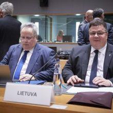 Ministras: mūsų politika Irano klausimu – Europos vienybė