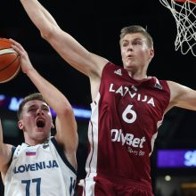 Latvių svajonę sudaužė dramatišką pergalę iškovoję slovėnai