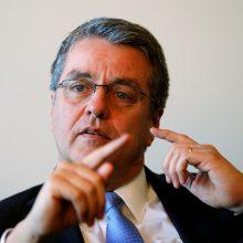 PPO vadovas perspėja: prekybos barjerai pakenks pasaulinei ekonomikai
