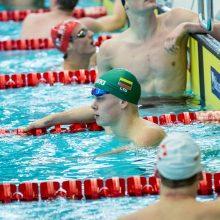Plaukikas D. Rapšys Lenkijoje pagerino Lietuvos rekordą
