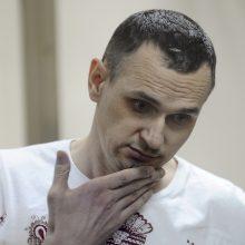 Ukraina siūlo O. Sencovą apdovanoti Nobelio taikos premija